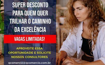 Maior programa de qualificação empresarial do Brasil está com uma promoção imperdível